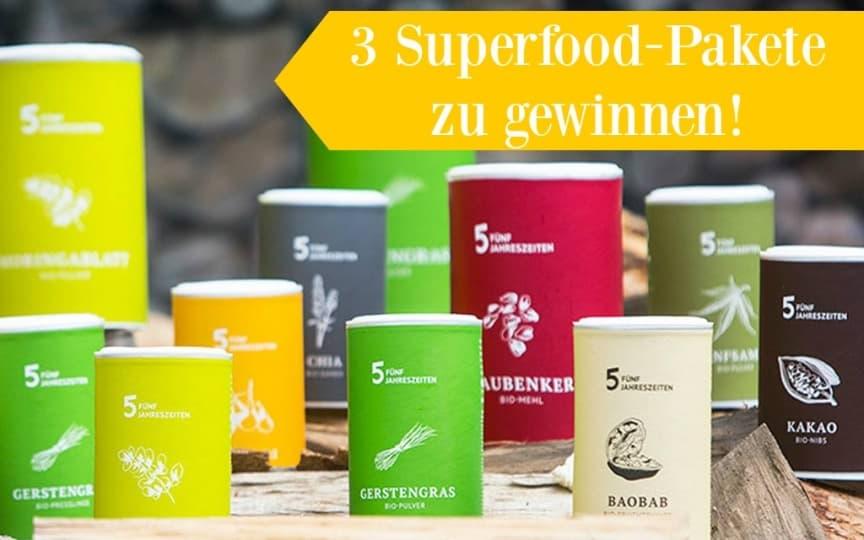 5 Jahrezeiten Superfoods