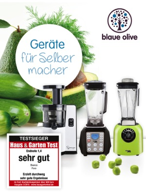 Blaue Olive Bianco Mixer