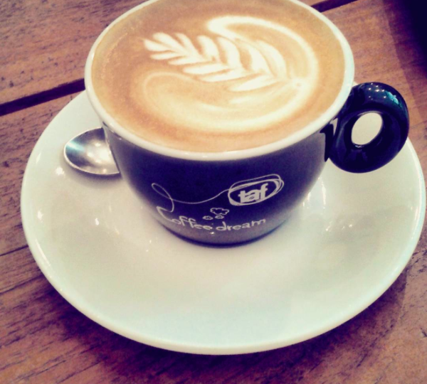 Milch Kaffee