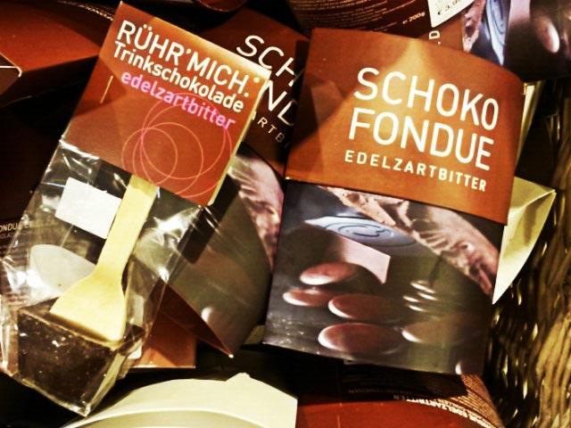 Schokoladenfondue, Trinkschokolade