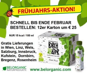 Belorganic Birch Water