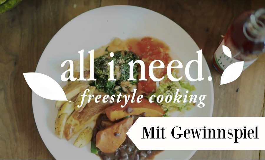 all i need Freestyle Cooking