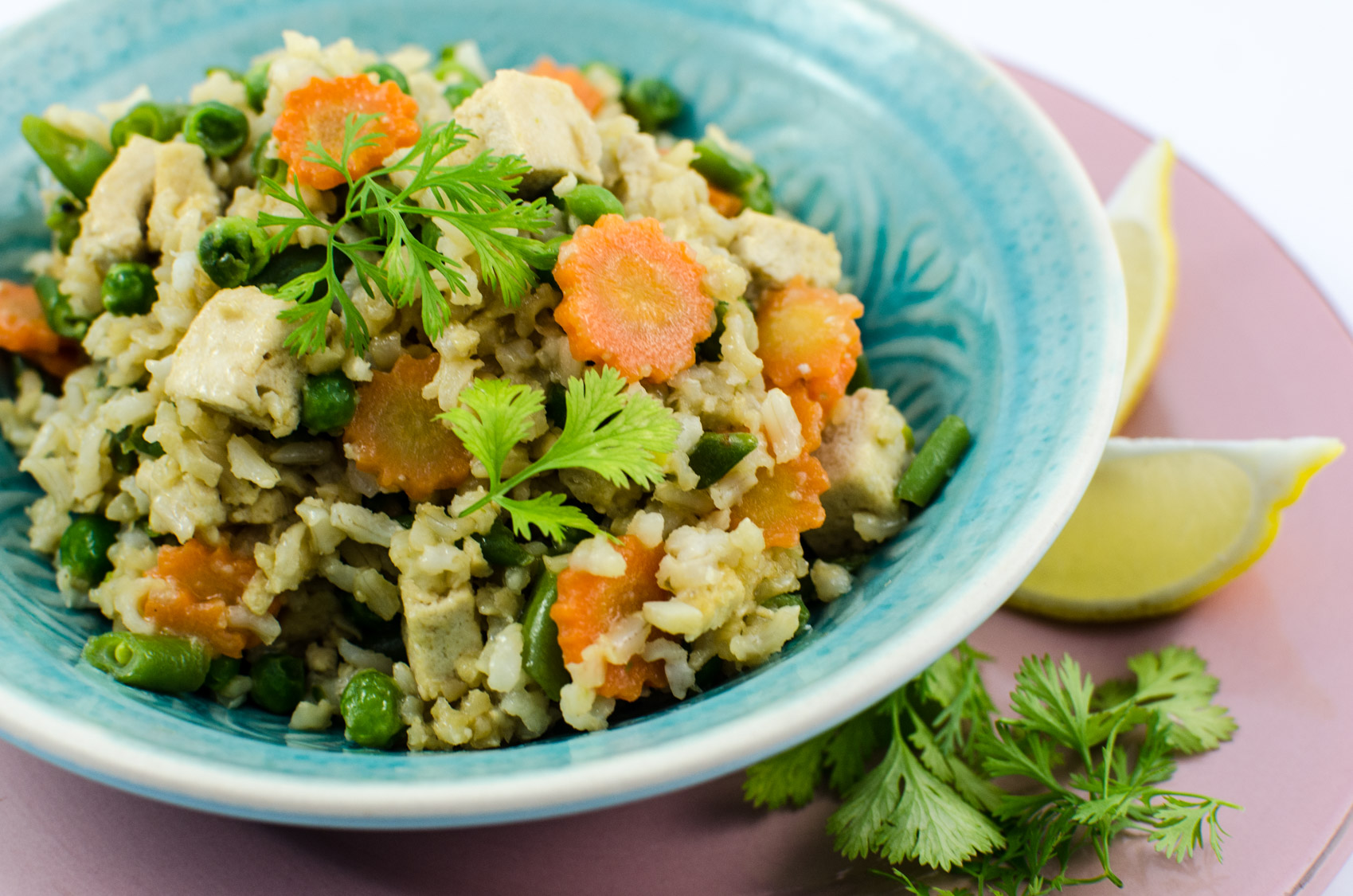 Der leckerste gebratene reis mit geheimzutat veganblatt - Reis kochen tasse ...