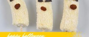 Halloween-Rezept: Lustige Bananen-Geister