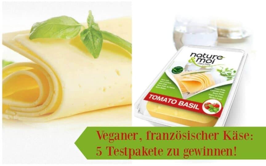 Französischer veganer Käse