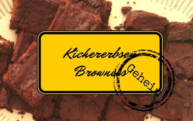 Kichererbsen-Brownies