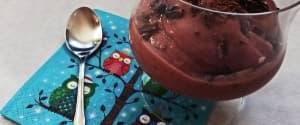 Gesundes Kirsch-Eis in 2 Minuten