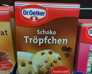Dr Oetker Schoko-Tröpfchen