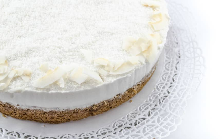 Kokos-Sahne-Torte