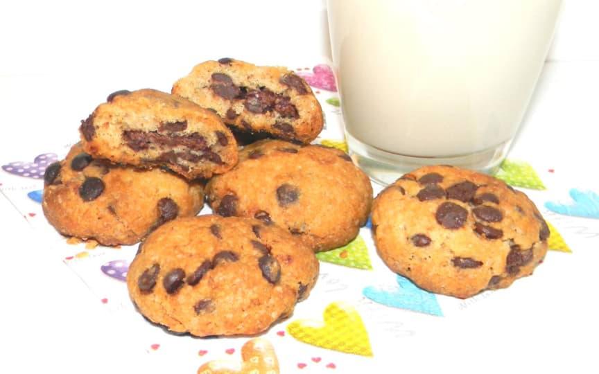 knusprige Schokochip-Cookies
