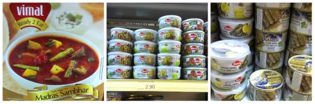 Fertige Gerichte und Salate