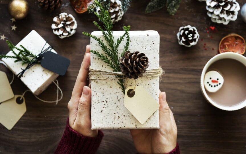 Geschenkeverpackung Upcycling
