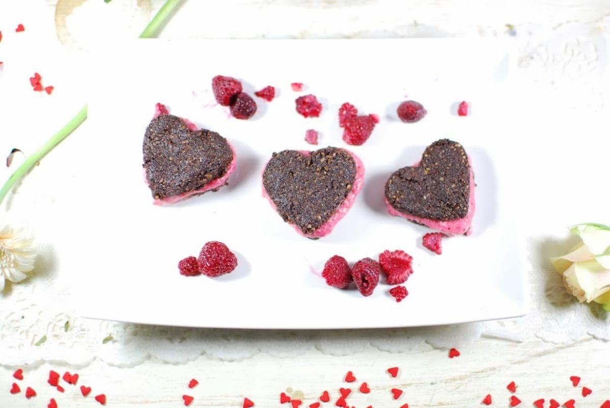 Roh Vegane Herzen Zum Valentinstag Veganblatt