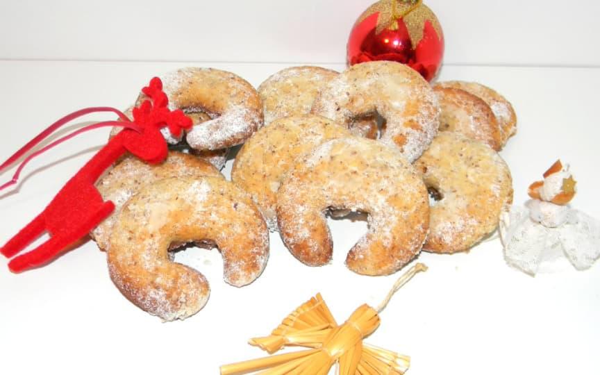weihnachtliche Vanillekipferl