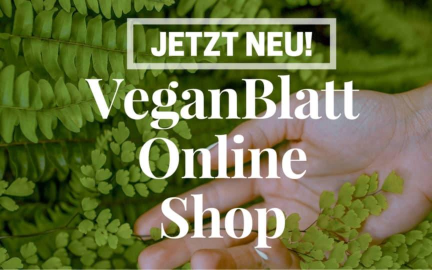 VeganBlatt Online Shop