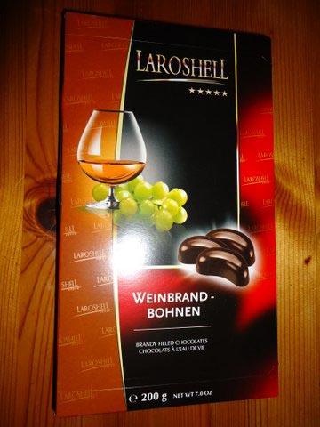 Weinbrandbohnen