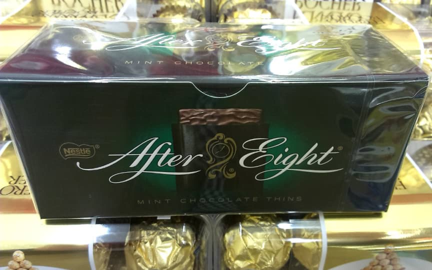 leider nicht vegan: After Eight