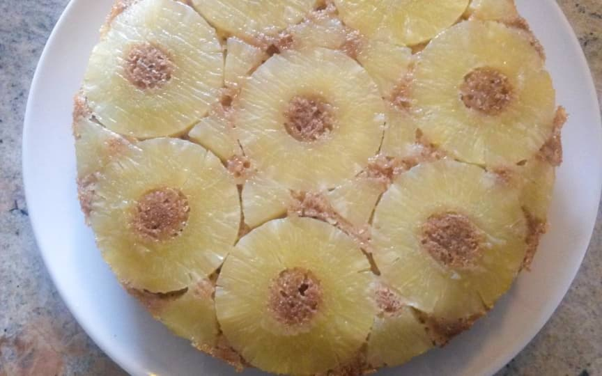 Ananas-Kuchen Upside down