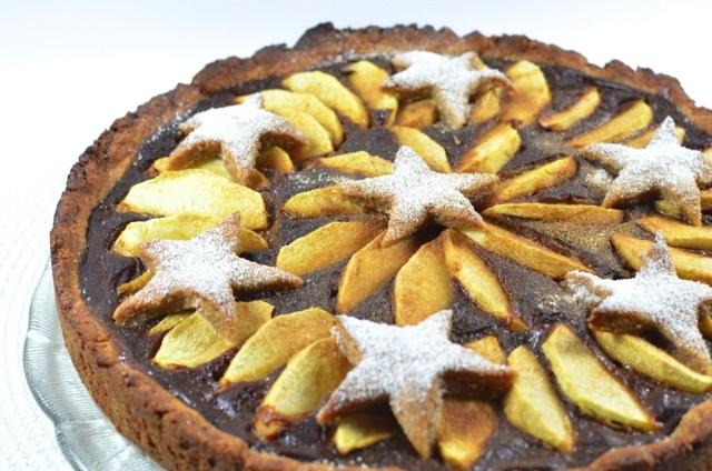 Veganer Apfel Kuchen