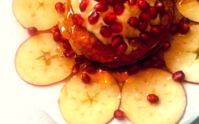 Apfel Vanilla Pancakes