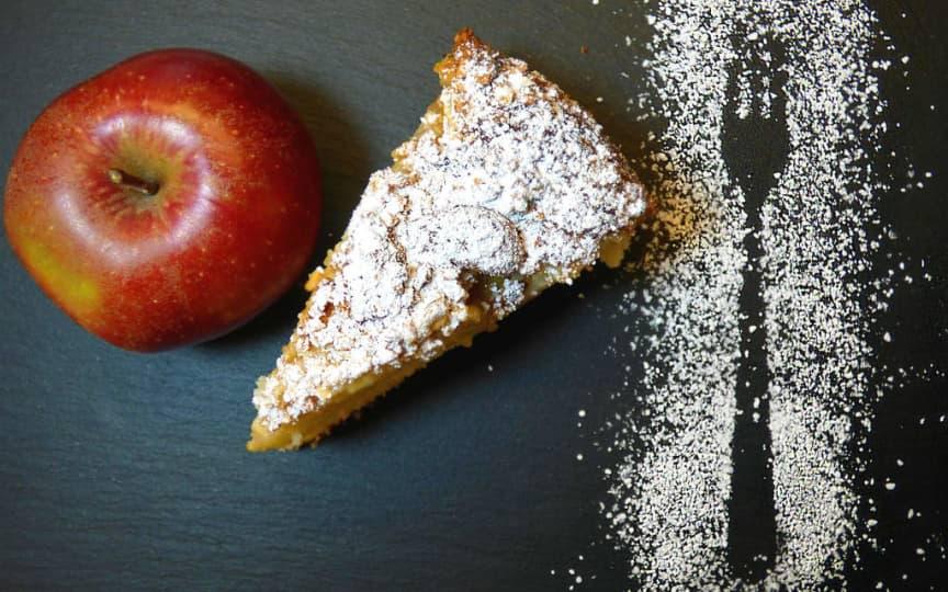 saftiger Apfel-Streusel-Kuchen