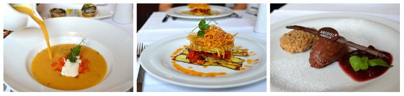 Veganes Menü Arcotel