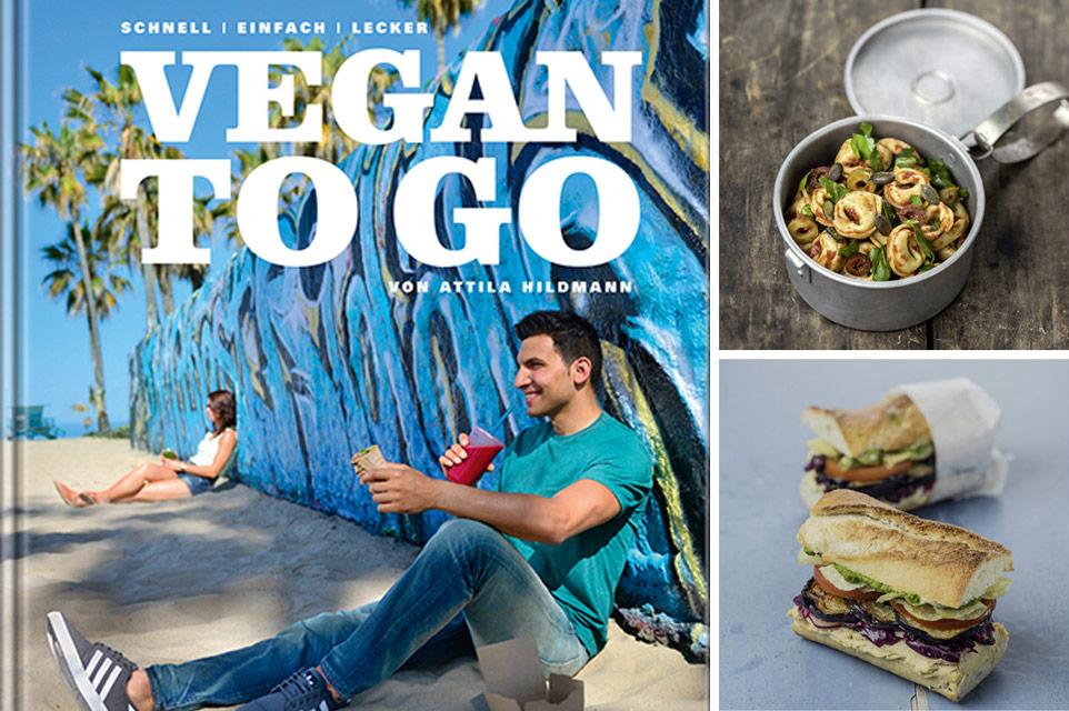 Vegan to Go: Attila Hiltmanns neues Buch