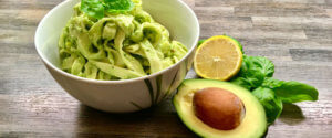 Leckere Avocado Pasta!