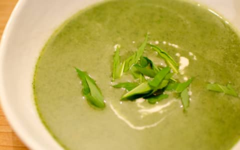 Bärlauch-Creme-Suppe