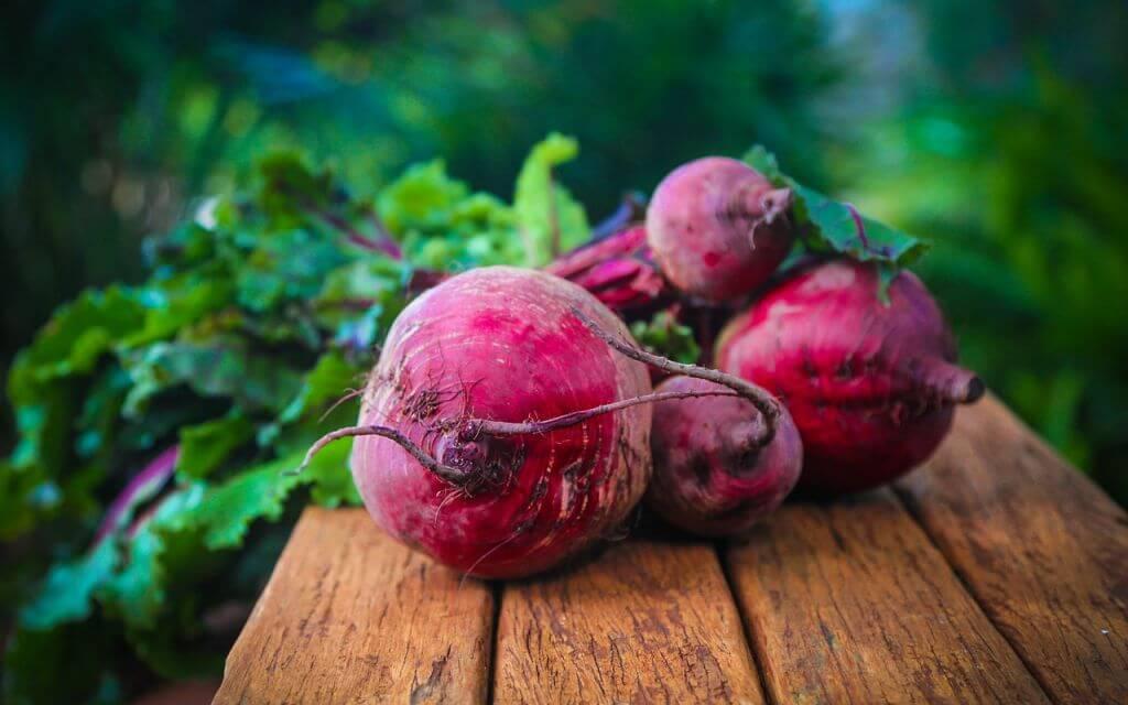 Heimische Superfoods Rote Bete Veganblatt