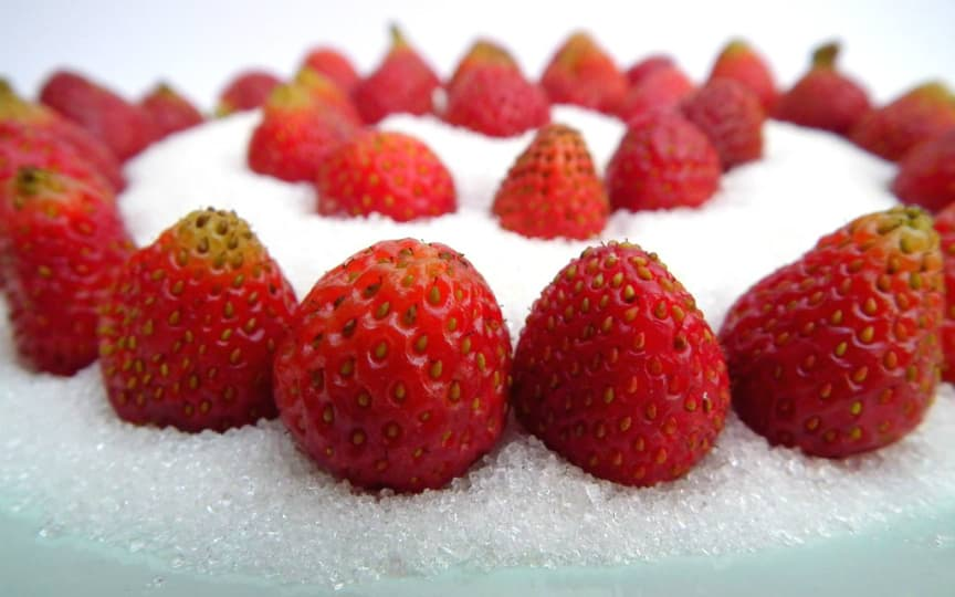 Früchte statt Zucker