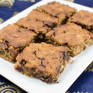 Vegane Blondies