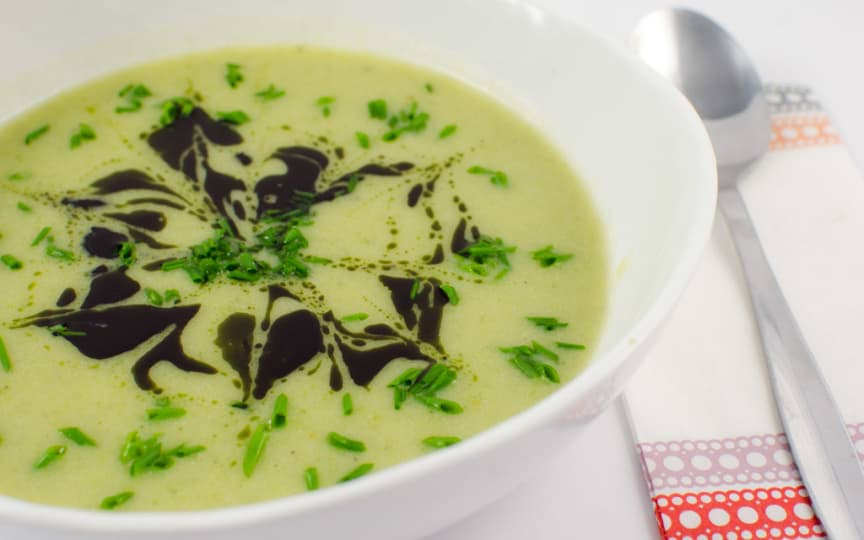 Broccoli-Kartoffel-Suppe