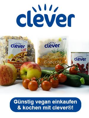 Günstig vegan mit clever