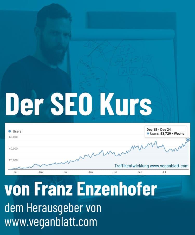 Der SEO Kurs Franz Enzenhofer