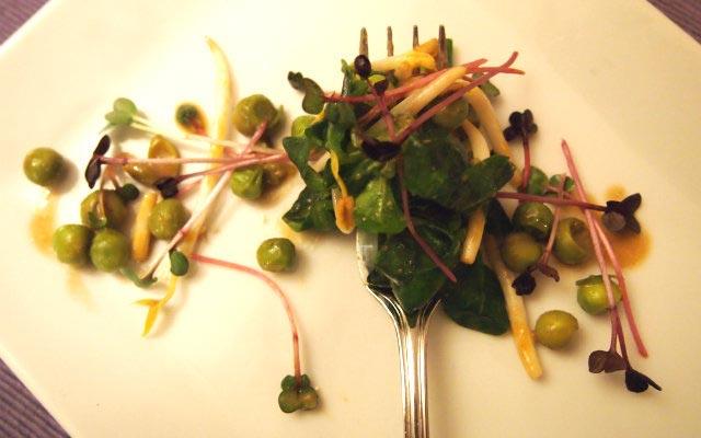 Erbsen-Feldsalat