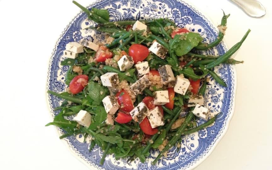 salat-feta-bohnen