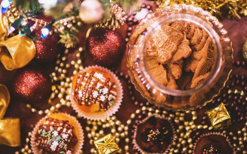 essbare Weihnachtsgeschenke