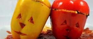Gefüllte Grusel-Paprika