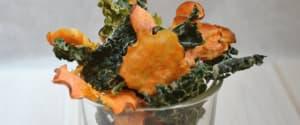 Rohkost-Gemüse-Chips selbstgemacht