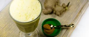 Golden Milk Shake mit Kurkuma