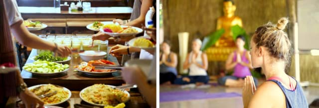 veganes Yoga Retreat in Kambodscha