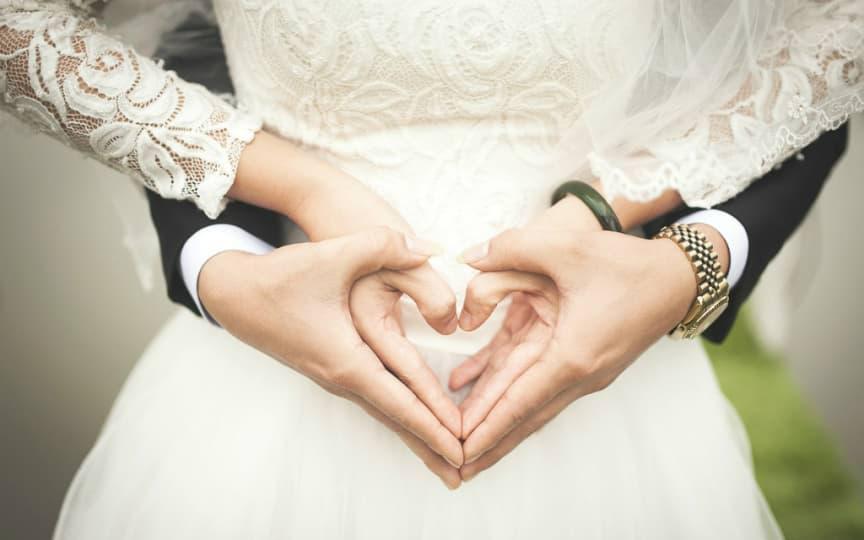 grün heiraten ist wunderschön