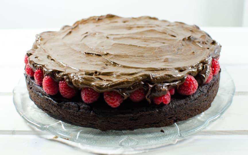 Glutenfreie Schoko-Torte