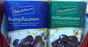 Rumpflaumen und Williamsbirnen