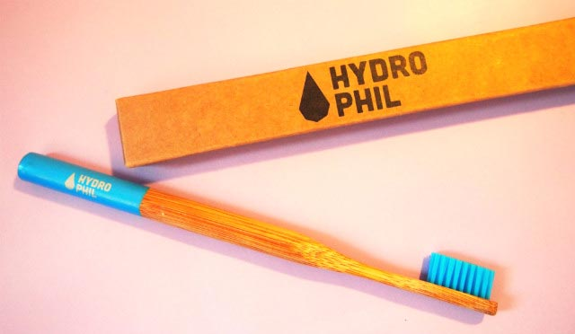 Hydrophil Bambus-Zahnbürste