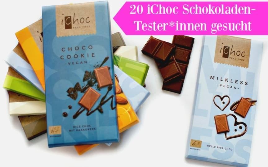 Schokoladen Testaktion