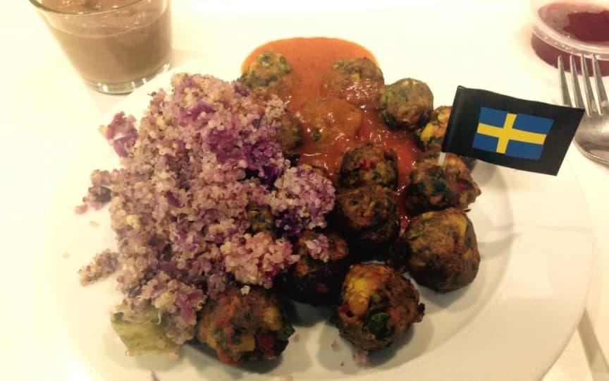 Vegane Gemüsebällchen Ikea