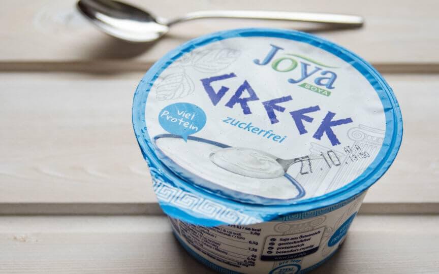 Veganes griechisches Joghurt
