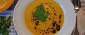 Gesundmach-Suppe mit Kürbis und Hirse